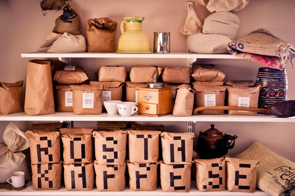 förvara kaffe i frysen